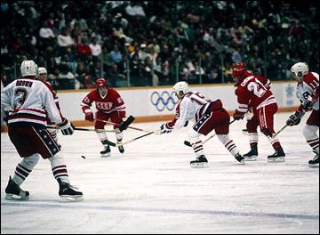 XV Зимние Олимпийские игры. Калгари. Хоккейный турнир. СССР — США