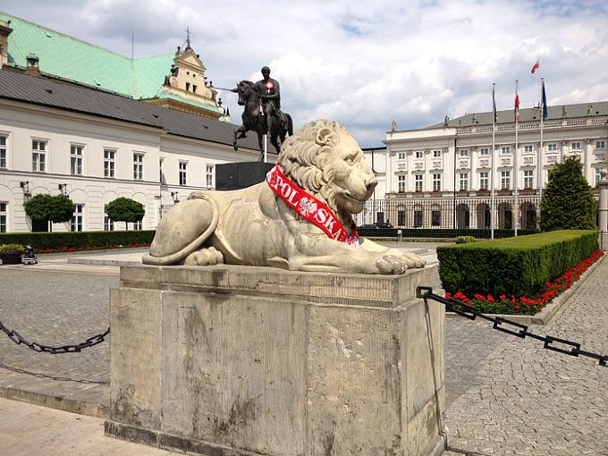 Красно-белая Варшава