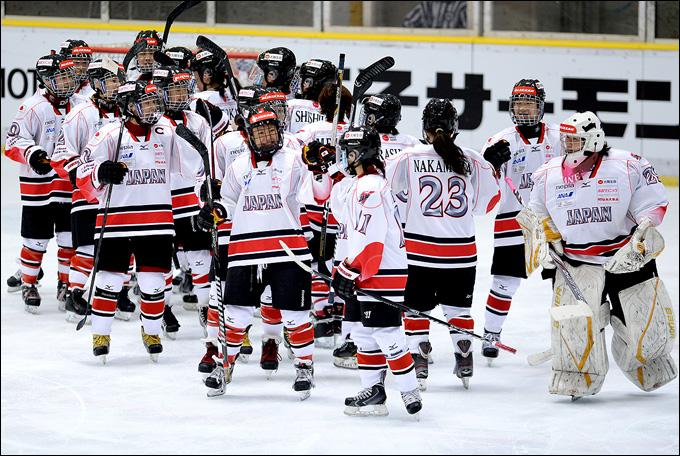 Женская хоккейная сборная Японии