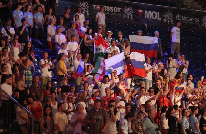 Чемпионат мира по фехтованию. Будапешт. Российские болельщики