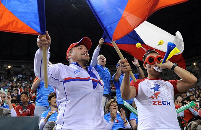Радость чешских болельщиков