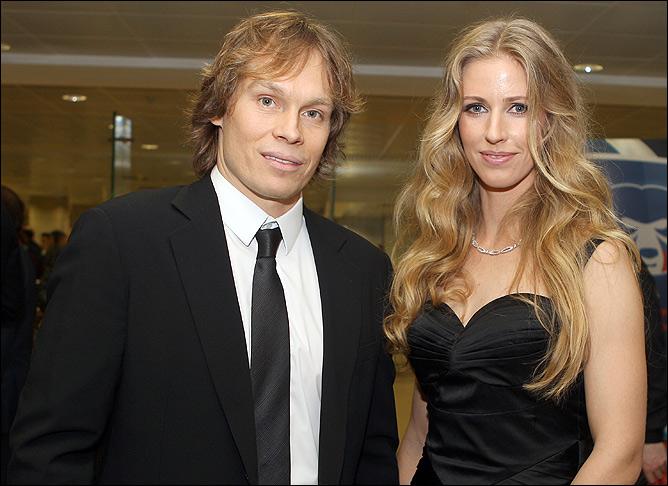 Максим Афиногенов и Елена Дементьева — очень красивая пара!