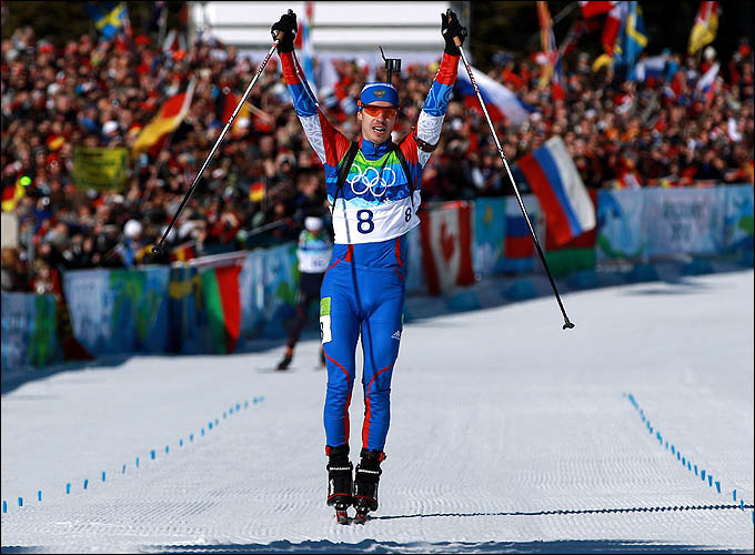 Золотой олимпийский финиш Евгения Устюгова