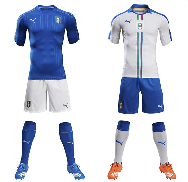 Форма сборной Италии