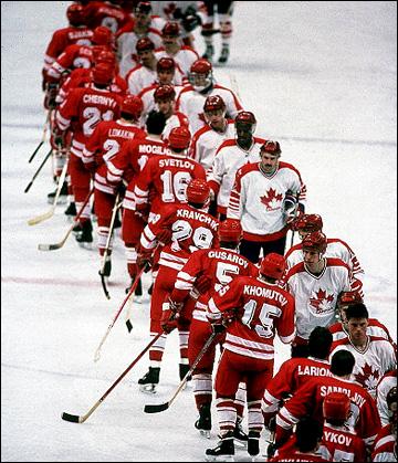 XV Зимние Олимпийские игры. Калгари. Хоккейный турнир. СССР — Канада