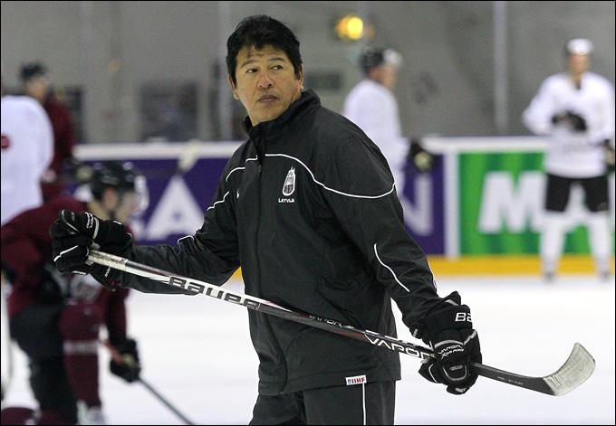 Наши дни. Тед Нолан — главный тренер сборной Латвии. Сегодня ему противостоять Билялетдинову