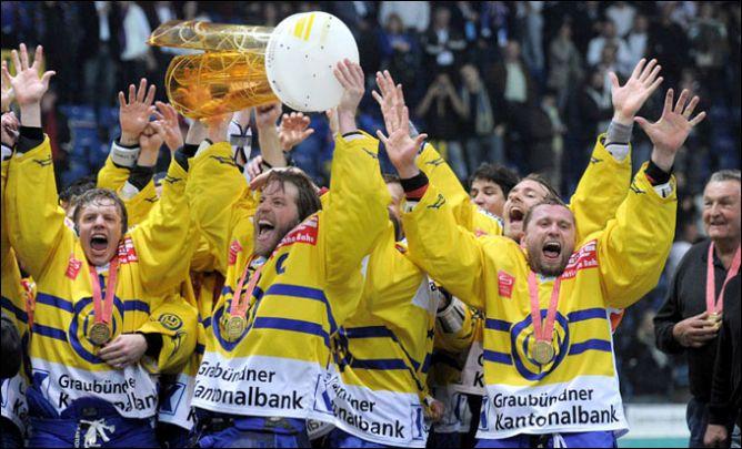 """ХК """"Давос"""" — 30-кратный чемпион Швейцарии"""