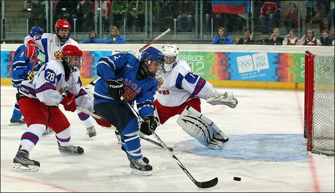 22 января 2012 года. Инсбрук. Юношеские зимние Олимпийские игры. Финал. Россия — Финляндия — 1:2