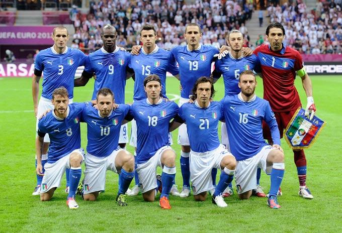 Сборная Италии на чемпионате Европы-2012