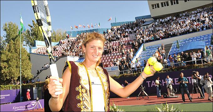 Ирина Бегу стала чемпионкой турнира в Ташкенте