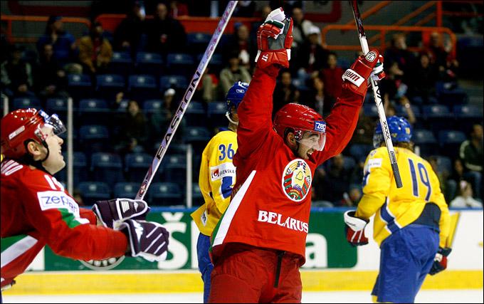Алексей Калюжный против сборной Швеции