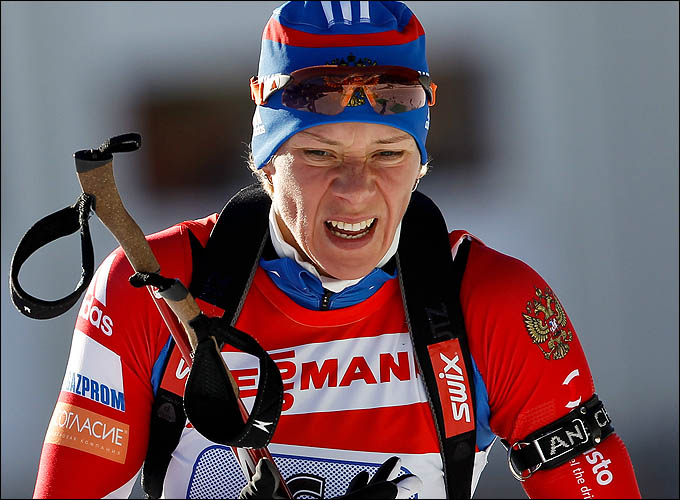 Ольга Зайцева продолжает оставаться лидером женской сборной России