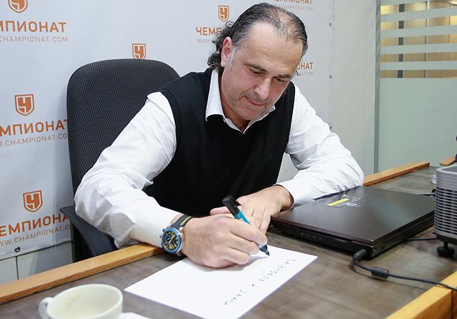 Главный тренер «Локомотива» Миодраг Божович в гостях у «Чемпионата»