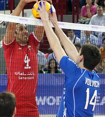 Россия – Иран – 3:1 (25:23, 25:22, 17:25, 25:18)