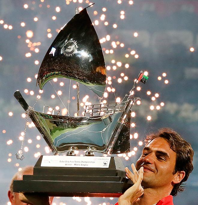 Роджер Федерер — шестикратный чемпион Дубая