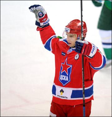 Томаш Суровы в составе ЦСКА