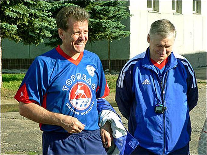 Михаил Варнаков и Александр Скворцов
