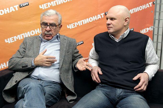 Борис Скрипко и Андрей Шкаликов.