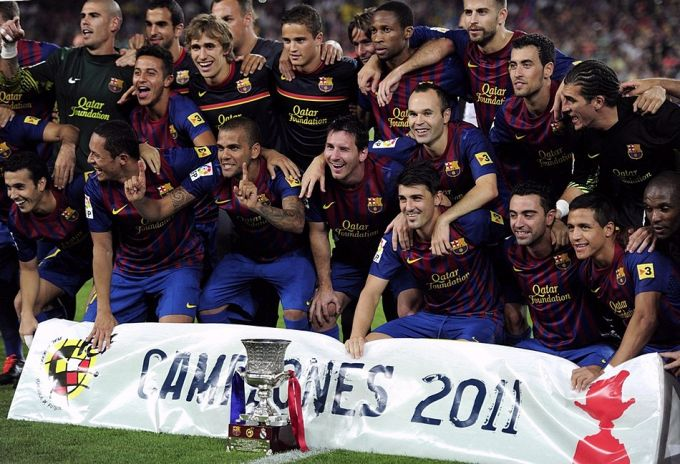"""Барселона"" — обладатель Суперкубка Испании – 2011!"
