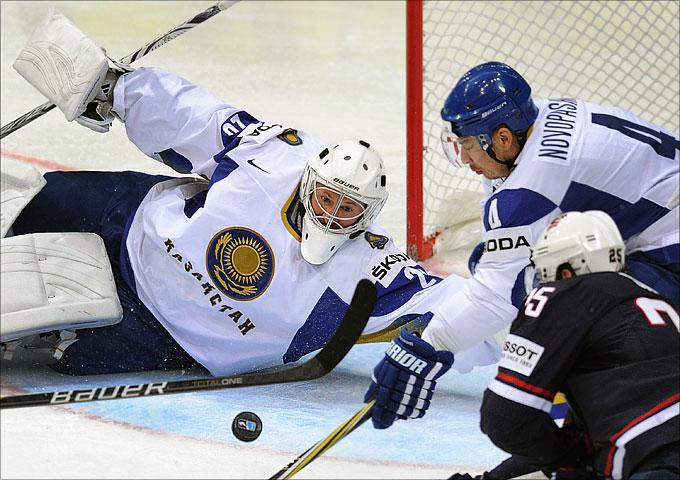 11 мая 2012 года. Хельсинки. Чемпионат мира. Групповой турнир. Казахстан — США — 2:3 (ОТ)