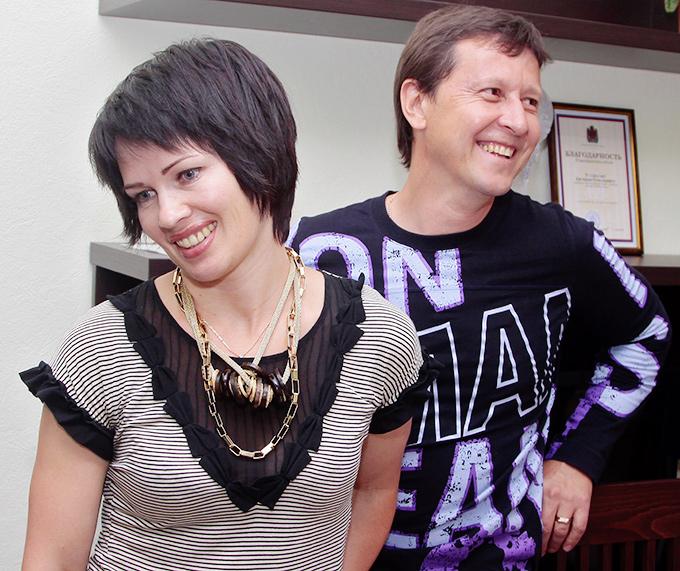 Валерий и Ольга Медведцевы