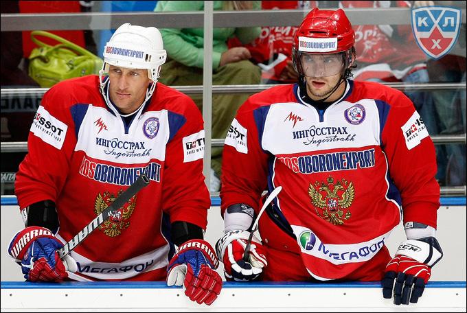 Алексей Ковалёв и Александр Овечкин