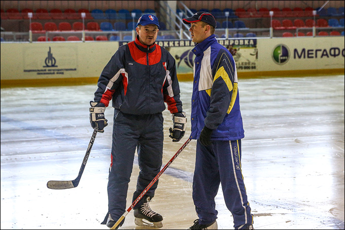 Виктор Чистов и Андрей Малков