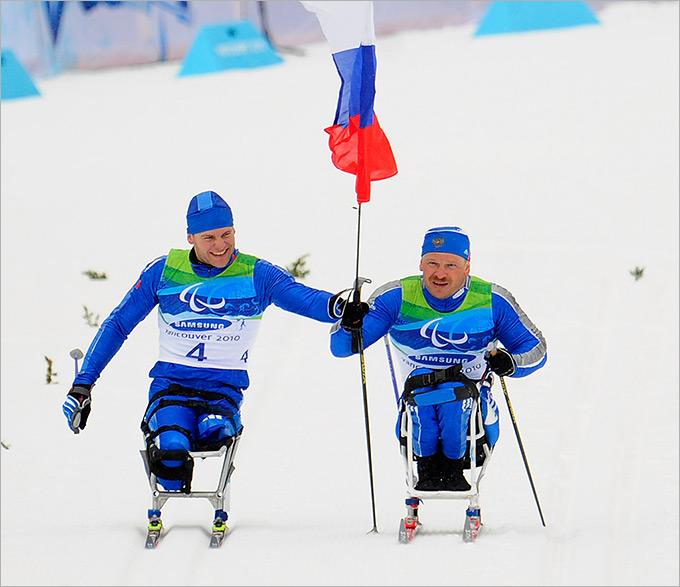 Паралимпийская сборная России успешно выступила в Сочи