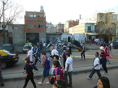 """Трущобы напротив стадиона """"Сан-Лоренсо"""""""