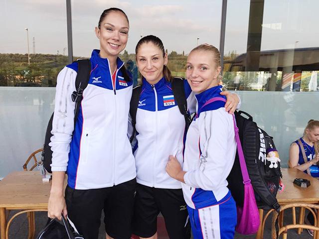 Екатерина Гамова, Татьяна Кошелева и Регина Мороз