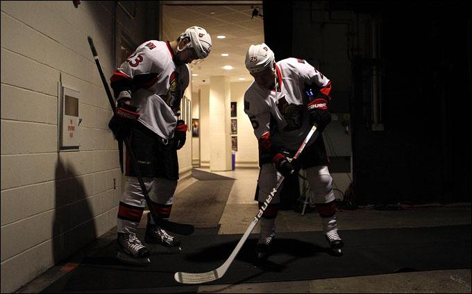 """27 апреля 2012 года. Нью-Йорк. Плей-офф НХЛ. 1/8 финала. """"Нью-Йорк Рейнджерс"""" — """"Оттава Сенаторз"""" — 2:1"""