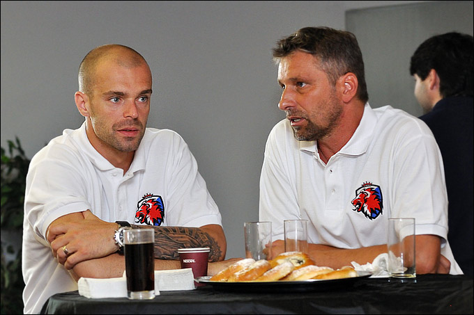 Якуб Клепиш и Йозеф Яндач