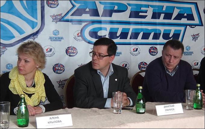 "Пресс-конференция по случаю презентации команды ""Сахалинские Акулы"""