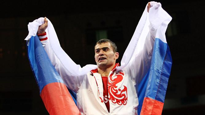 Олимпийский чемпион 2008 года Рахим Чахкиев.