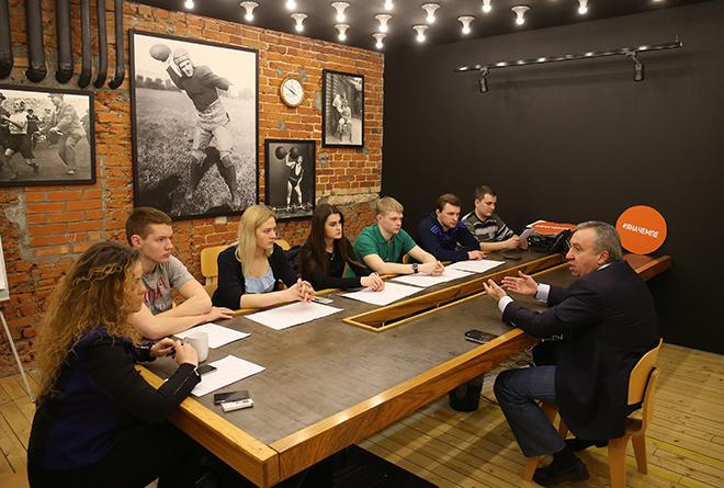 Андрей Сафронов в редакции «Чемпионата»