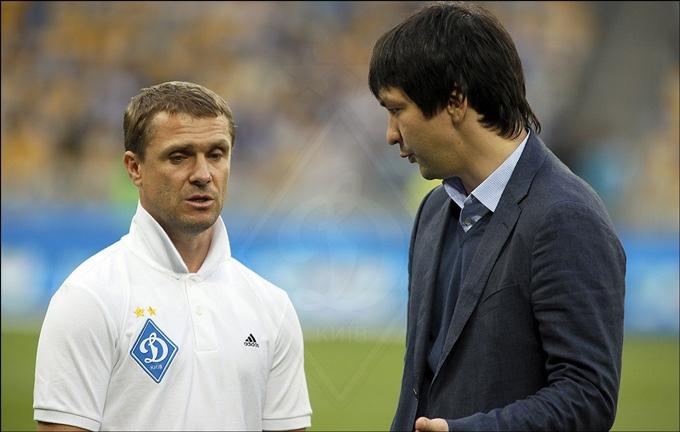 Сергей Ребров и Андрей Русол