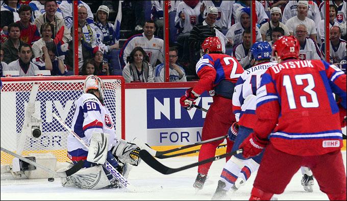 20 мая 2012 года. Хельсинки. Чемпионат мира. Финал. Россия — Словакия — 6:2