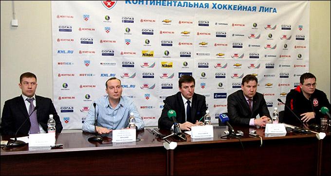 "Пресс-конференция руководителей ""Витязя"""