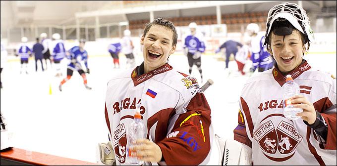 Школы хоккейных вратарей Владислава Третьяка
