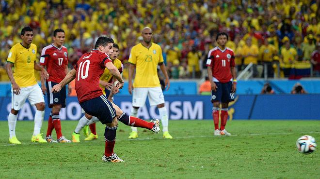 Шестой гол Хамеса Родригеса на чемпионате мира
