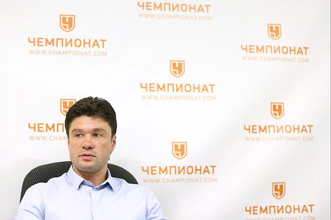 Олег Ореховский в гостях у «Чемпионата»
