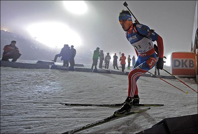Антон Шипулин вытащил сборную России с седьмого места на второе