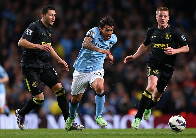 """""""Манчестер Сити"""" — """"Уиган"""" — 1:0. Через три с половиной недели эти команды сыграют в финале Кубка Англии"""