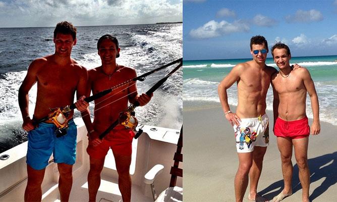 Рыбка и Макаренко на Кубе