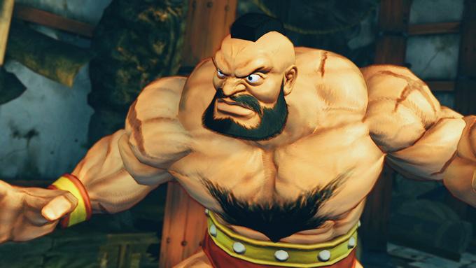 """Виктора Зангиева оздатели Street Fighter I. I. выбрали для создания """"Красного Циклона"""""""