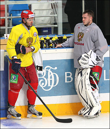 Александр Радулов и Константин Барулин