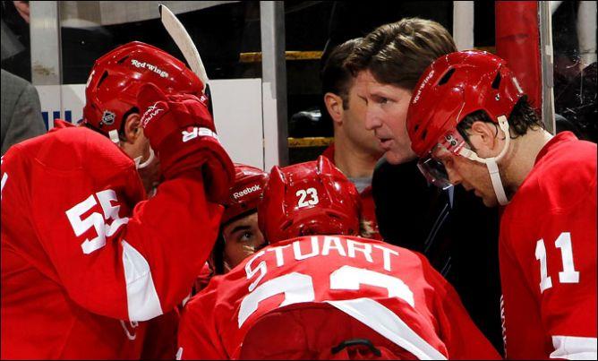 """16 апреля 2011. Детройт. Плей-офф НХЛ. 1/8 финала. """"Детройт Ред Уингз"""" — """"Финикс Койотс"""" — 4:3."""