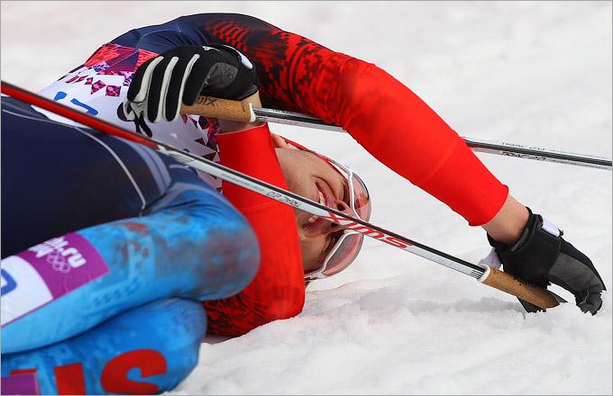 Россияне остались без медалей в лыжной гонке классическим стилем