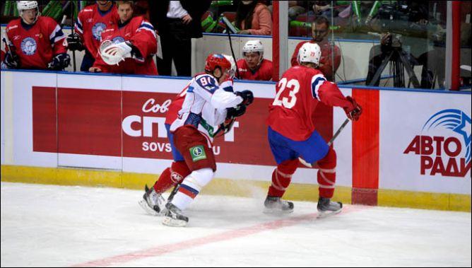 16 апреля 2011 года. Санкт-Петербург. Европейский Кубок Вызова. Россия — Норвегия — 4:3.