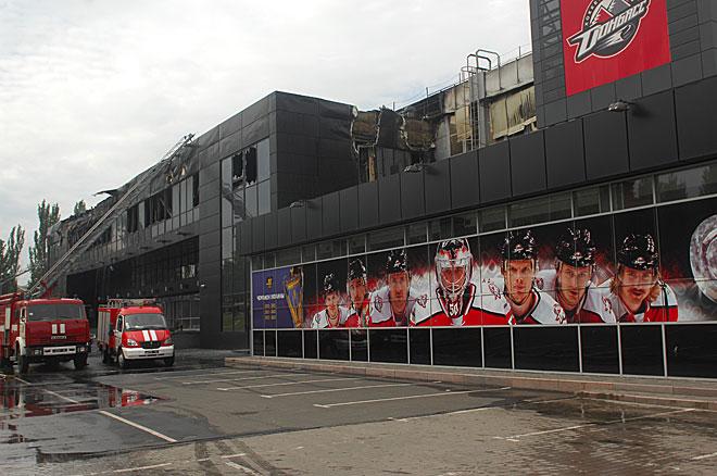 Так выглядит теперь фасад арены «Дружба»